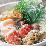 鶏ちゃんこ鍋<塩・醤油>(2人前より)