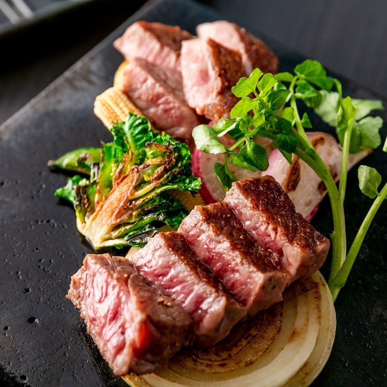 神奈川のブランド牛国産黒毛和牛の味わいをお楽しみください