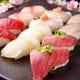 旬のネタで握り寿司