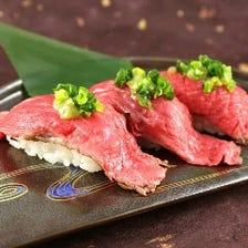 黒毛和牛肉寿司