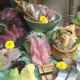 生簀(いけす)料理も含めた大人気の刺盛