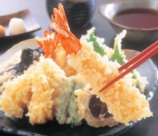 味自慢の天ぷら