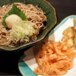 桜海老辛味おろし蕎麦