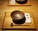 最初に御客様をおもてなしする、北海道の土で作った器