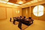 和を基調とした個室も完備。詳しくはお問い合わせください。