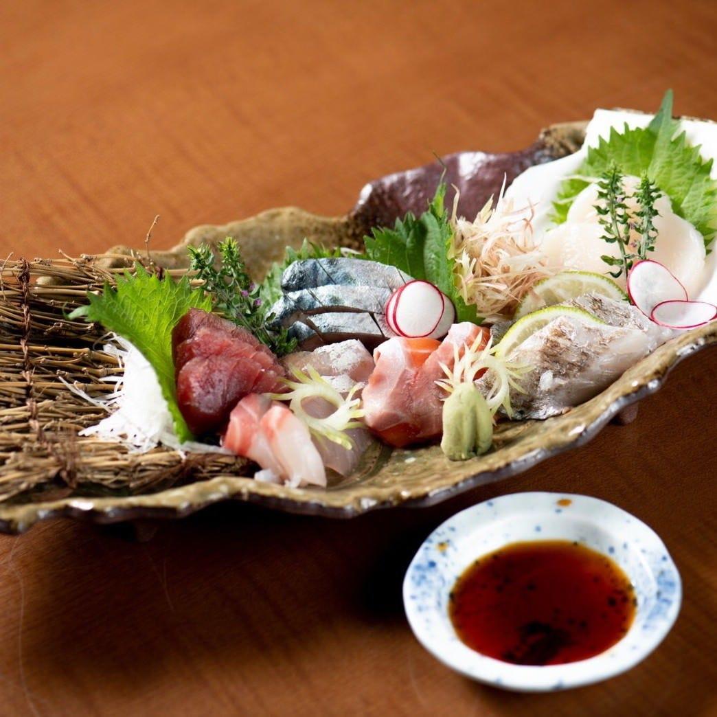 新鮮魚介を使った海鮮料理が絶品