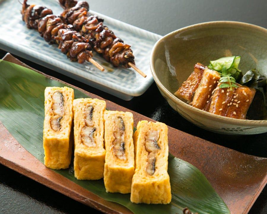 肝焼きやう巻などうなぎの一品料理も豊富にご用意しております