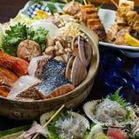 豪華海鮮鍋コース