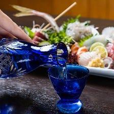 静岡の地酒と地魚で至福の一杯を