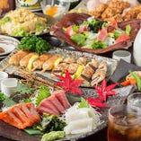 食べ飲み放題あり!お得な宴会コースを2,500円(税抜)~ご用意