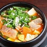 豚肉と野菜のテンジャンチゲ