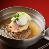 韓式みぞれスープの冷麺