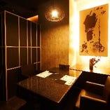 会食や接待におすすめの個室テーブル席