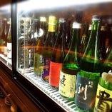 選りすぐりの日本酒。豪華なラインナップをご用意しています!