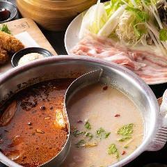 2層火鍋セット~3種のスープよりお選びください~