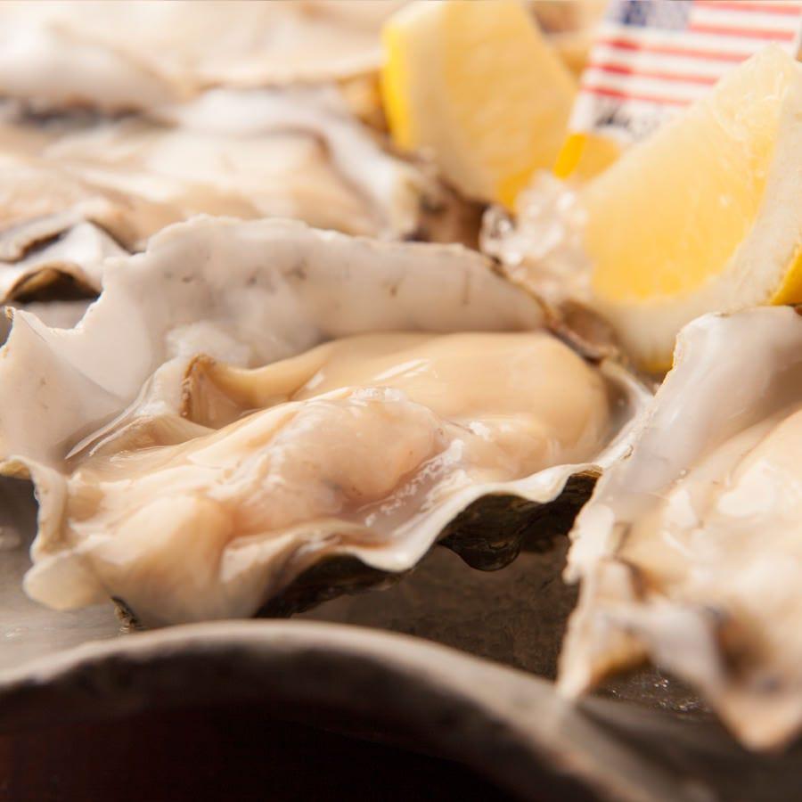 シャンパーニュと牡蠣2ピースセット