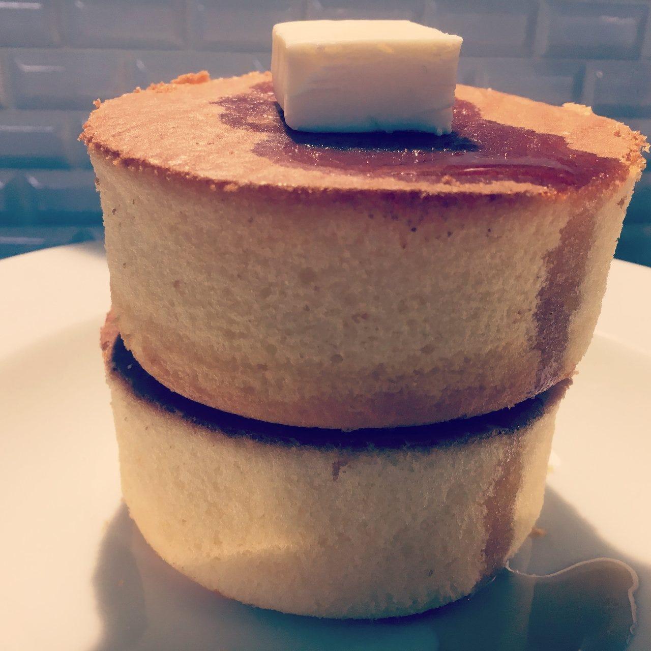 4cm×2の厚焼きホットケーキが新登場!!