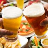 ディナーもお酒もリーズナブルに楽しめるのが当店の魅力