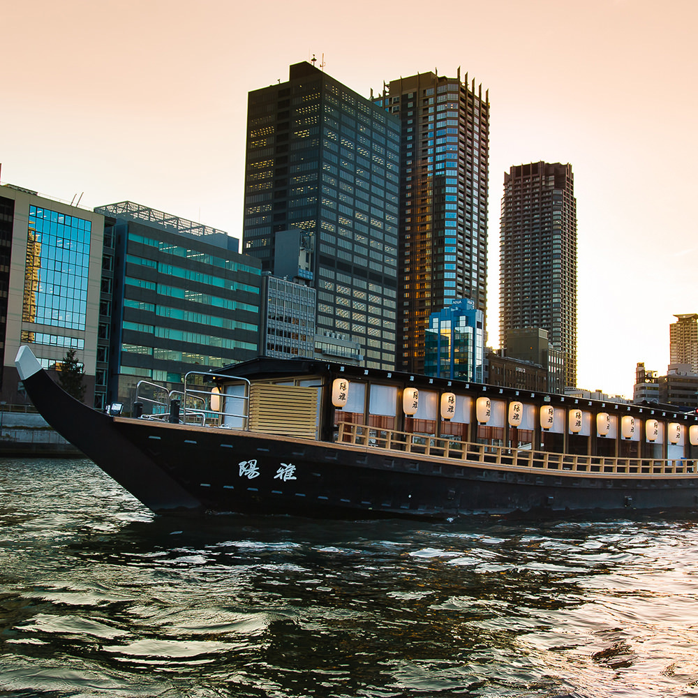 KPG RIVER CRUISE レストランクルーズ 大阪屋形船
