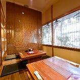 [個室] 店内には半個室も完備◎接待や会食にもおすすめ