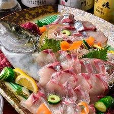 壱岐直送の新鮮魚介を堪能!