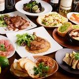【2時間飲み放題付】50日熟成サーロインステーキ込の肉堪能コース!〈全7品〉