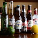 世界各国のビールをご用意