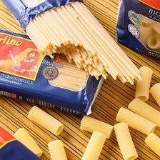 名物!イタリア小麦100%太麺パスタ