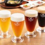 クラフトビールや国産ワイン、多彩なカクテルなど豊富なドリンク