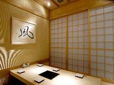 ◆まろやかな白木の個室◆