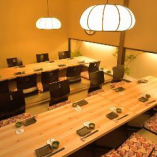 全席完全個室。団体様もご利用可能です。