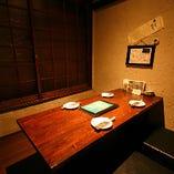 【4名様まで】他のお客様を気にせず楽しめる♪完全個室(座敷)