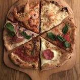 ≪こだわりのピザ☆≫ モチモチとぱりぱりの食感をお楽しみあれ