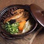 フォアグラ近江牛トリュフ土鍋ご飯