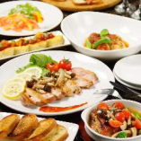 絶品の肉料理が満喫できる3h飲放付コースは3000円~ご提供!