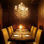 肉バル ニクジロー 四条木屋町 - シャンデリアのあるおしゃれな個室 -