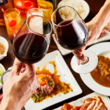 食べ放題コースは別途ワンドリンクまたは飲み放題ご注文制