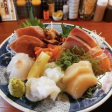新鮮なお魚料理・お刺身もおすすめ