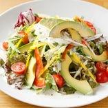 契約農家から直送した季節の新鮮な野菜を贅沢に使用【栃木県】