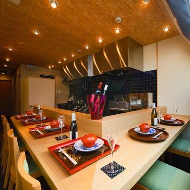 日本料理 肉菜 百福  店内の画像
