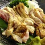 ◆絶品シャポーン鶏!鉄板焼き/刺しでどうぞ♪