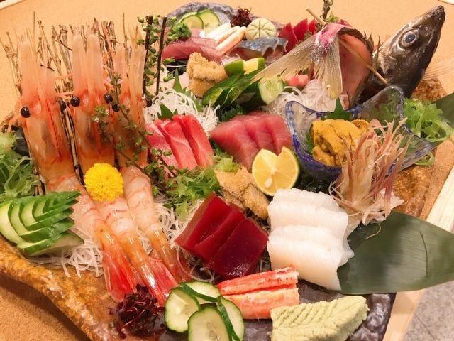 天然物の旬な寿司ネタが味わえる江戸前寿司店です