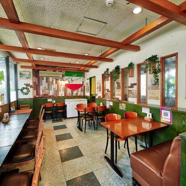 Cafe Romani 浦添店 店内の画像