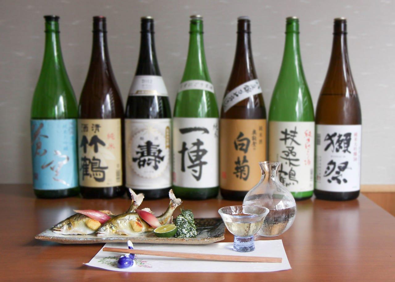 日本酒ペアリング7品7種7,000円