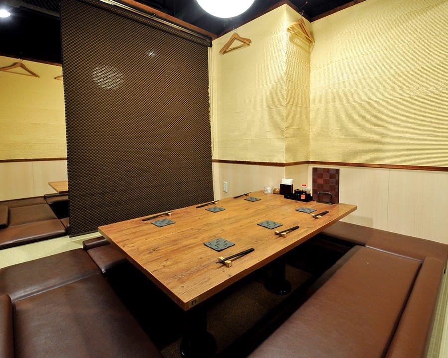 人気の堀ごたつ23名様までのご宴会個室としてもご利用できます!