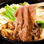《特選和牛》 魚のみならず、お肉、お野菜も厳選しております