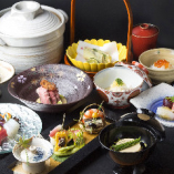《会席料理》 季節を映す日本料理。ご接待・お顔合わせにぜひ