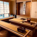 現代風立礼式(りゅうれいしき)茶室