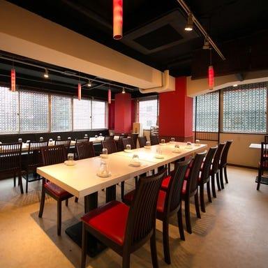 四川料理と広々個室 京華茶楼 新橋店 店内の画像