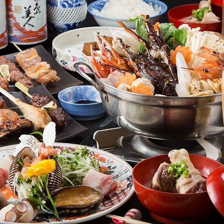 旬食材の旨味を味わう贅沢なコースを4,000円(税込)からご用意